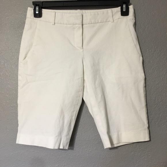 29f03bb498 Theory Shorts | Womens White Short Size 8 | Poshmark
